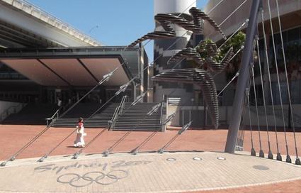 Denkmal an die Olympischen Spiele 2000 in Sydney